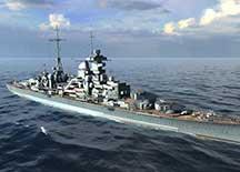 战舰世界德系巡洋舰专精玩法视频