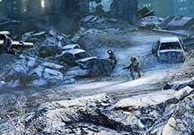使命召唤10:幽灵联机游戏地图展示视频