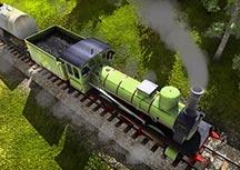 狂热火车实况试玩视频演示 铁路大亨养成记