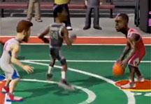 NBA游乐场上手试玩演示视频 另类NBA赛场体验