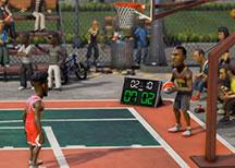 NBA游乐场激情爆笑解说视频 看我空中大灌篮
