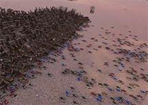 史诗战争模拟器爆笑演示视频 斯巴达大战泰坦巨人