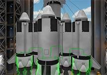 坎巴拉太空计划超长试玩演示视频 超级电推器展示