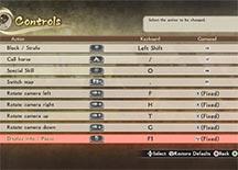 战国无双:真田丸按键操作指南 PC版按键设置说明