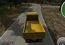 施工模拟2012卡车运输演示视频 怎么让卡车运输