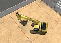 施工模拟2012挖掘基础教学视频 挖掘操作演示