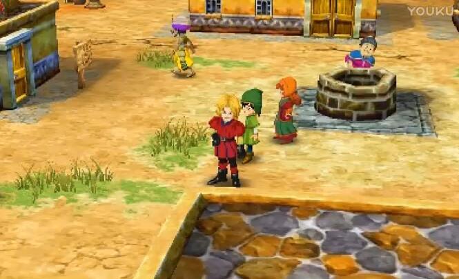 勇者斗恶龙7被石化的村民视频
