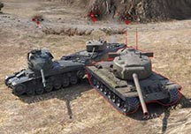 坦克世界精彩战斗TOP10视频 坦克追逐战