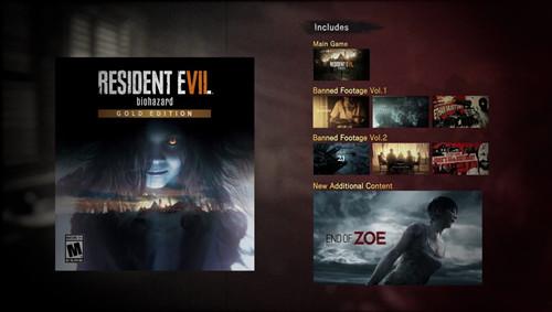 《生化危机7:黄金版》最新视频预告发布