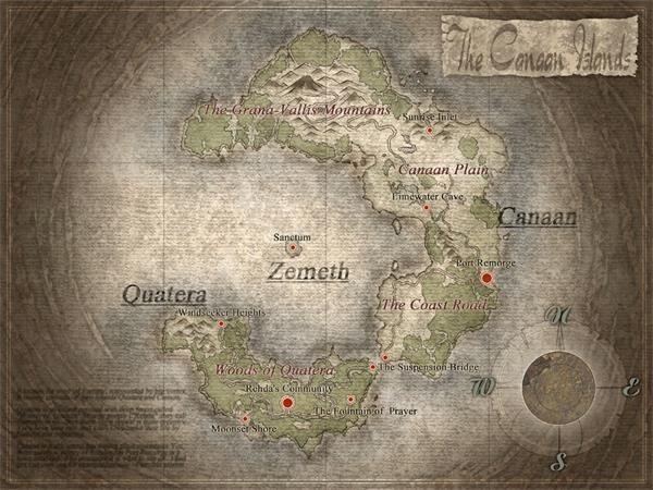 伊苏6世界地图介绍 伊苏6世界地图一览