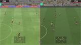 实况足球2018画面对比视频 实况足球2018游戏画面对比