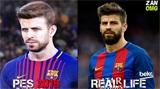 实况足球2018脸型对比视频 脸型还原度对比