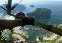 孤岛惊魂3滑翔翼使用演示视频 滑翔翼跳伞动作展示