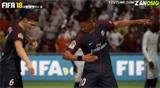 FIFA18vsPES2018远射对比视频