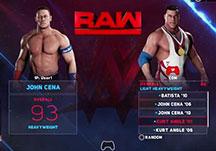 WWE2K18实况试玩视频 约翰塞纳VS.安格