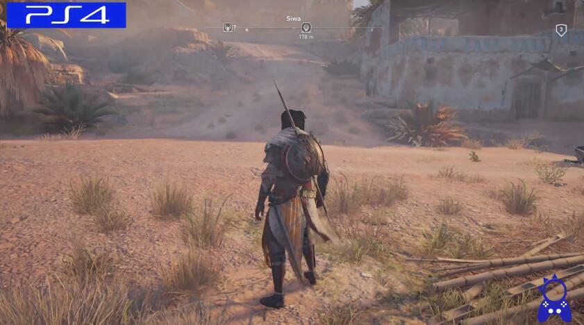 刺客信条:起源画面对比 PS4&PS4pro对比视频