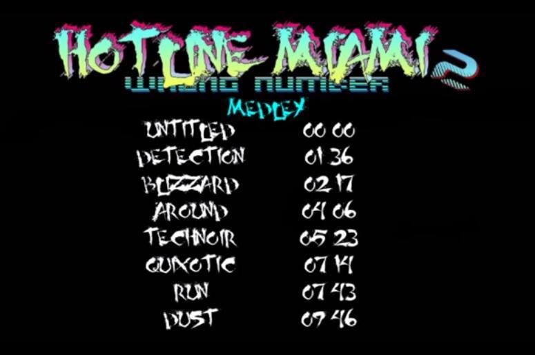 迈阿密热线2音乐合集 迈阿密热线2游戏原声
