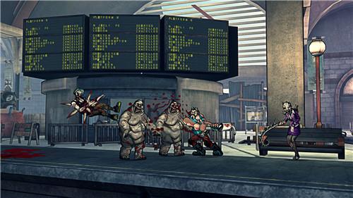 血腥僵尸主机版宣传视频 游戏宣传片欣赏