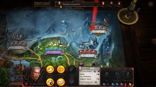 巫师:冒险游戏预告片 游戏最新视频预告