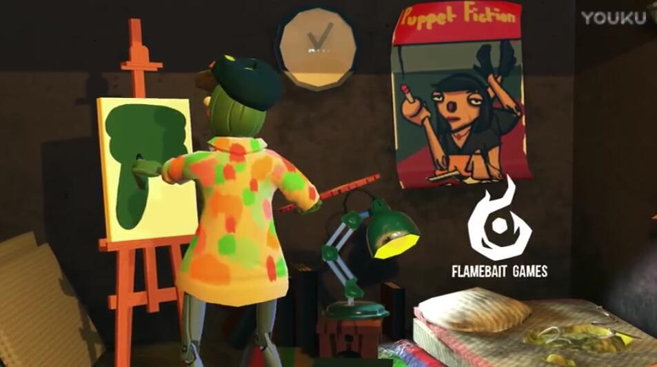 饥饿派画家宣传视频 饥饿派画家游戏宣传