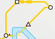 迷你地铁实机演示视频 城市地铁双线运行