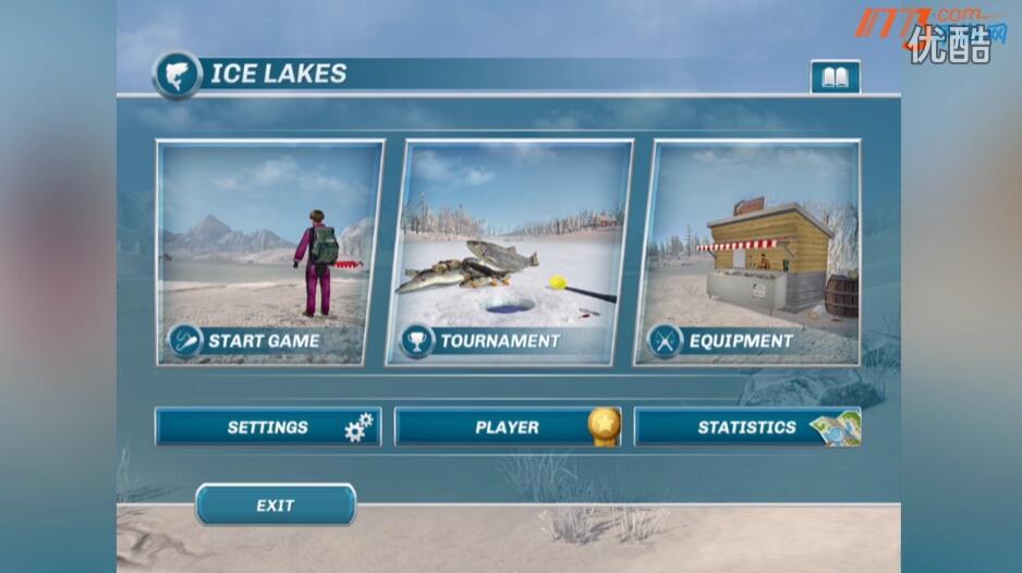 冰湖钓鱼试玩视频 冰湖钓鱼游戏试玩