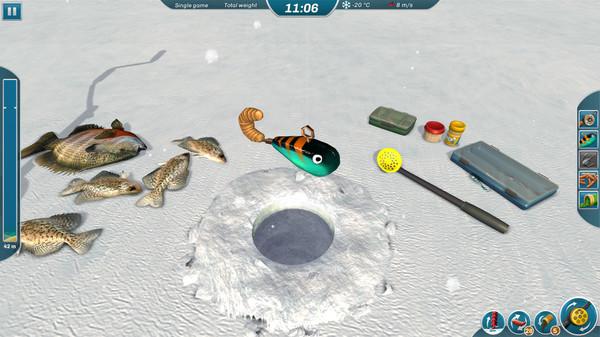 冰湖钓鱼操作流程介绍 冰湖钓鱼怎么玩