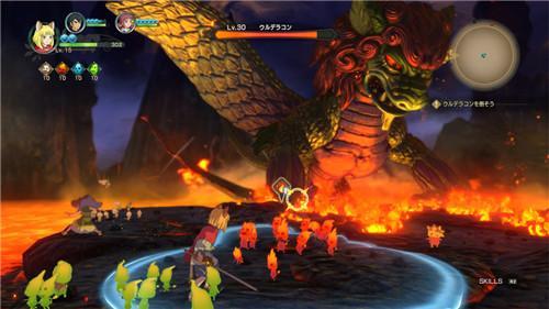 游戏背景: 在《二之国2:亡灵之国》的世界中,玩家进入了ding dong