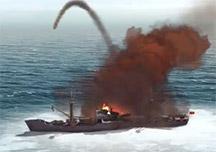 冰冷海域娱乐解说视频 遇见一颗顽皮的导弹
