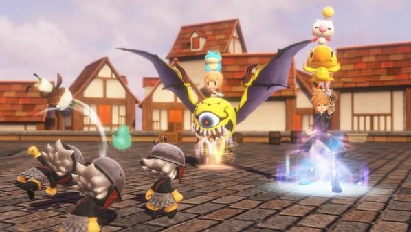 游戏战斗系统最大的特色是3名角色叠罗汉的玩法,主角名称依次为朗恩