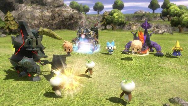 最终幻想:世界练级地点介绍 后期练级地点推荐