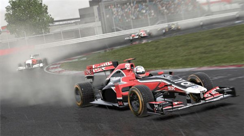 F1 2011巴塞罗那跑法视频攻略 西班牙地图跑法
