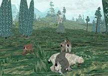 避难所2玩法演示视频 山猫幼崽渐渐长大