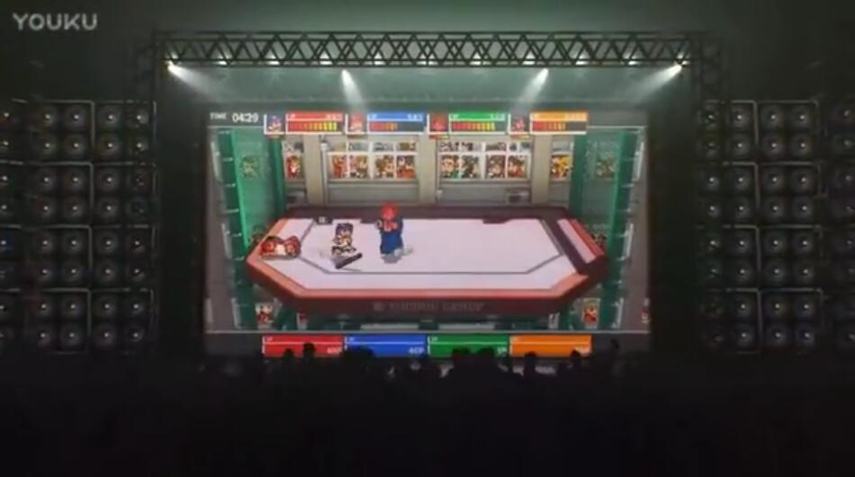 热血格斗:大激战SP预告视频 大激战SP游戏预告
