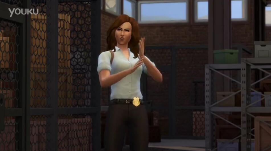 模拟人生4:来去上班警察预告 警察游玩预告片
