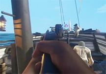 黑色艉流爆笑试玩视频 去往英国的海上战船
