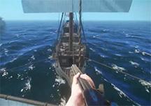 黑色艉流实机演示视频 加勒比海盗游戏版