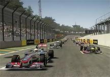 F12012实况试玩视频 巴西大奖赛演示