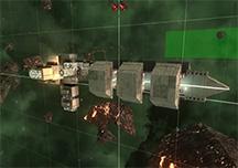 猎户座实机演示视频 飞船太空站建造演示