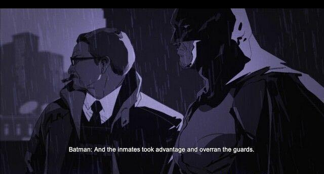 蝙蝠侠:阿甘起源黑门第二章攻略 第二章图文流程