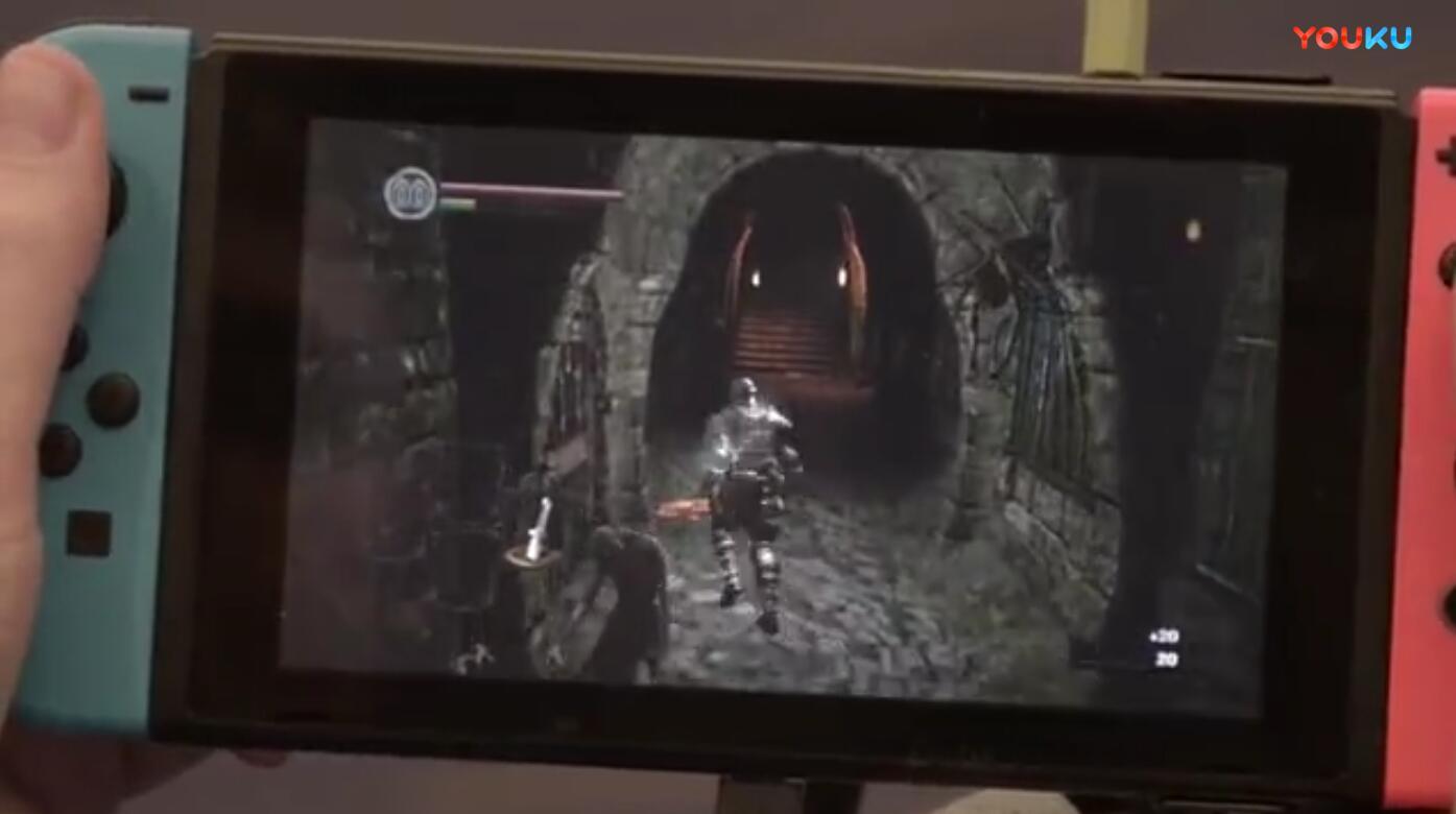 黑暗之魂:重制版Switch演示 Switch试玩视频