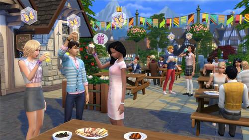 模拟人生4:欢聚一堂试玩视频 游戏试玩解说视频