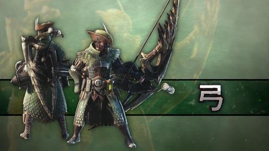 《怪物猎人:世界》冰原DLC武器新演示 弓、操虫