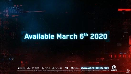《看门狗:军团》2020年3月6日发售 实机演示公布