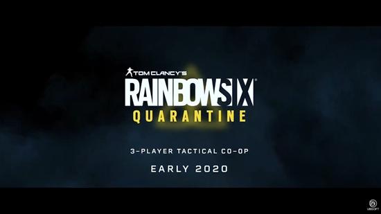 《彩虹六号:封锁》预告片公布 2020年初发售