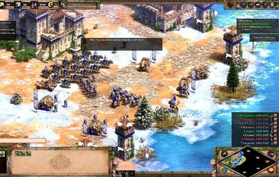 《帝国时代2:终极版》试玩演示 征服更高清世界