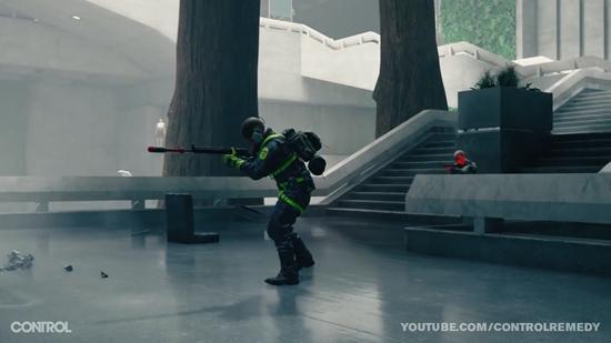 Control游戏演示 多种能力和武器对抗敌人