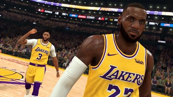 NBA2K20新预告 全明星上演热血灌篮