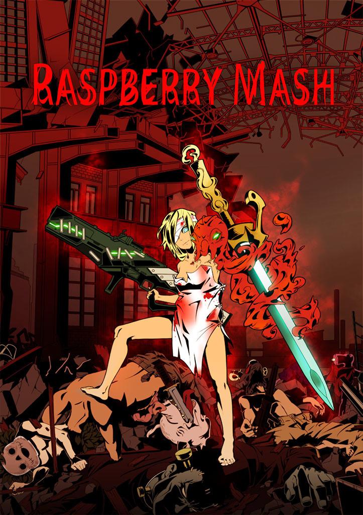 结合弹幕、砍杀与幻想!《炸裂树莓浆 Raspberry Mash》将登陆 Switch / PC 平台